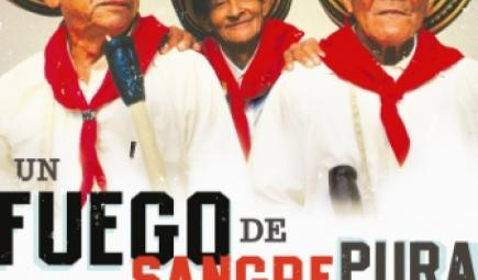 Colombian music album cover for Un Fuego de Sangre Pura