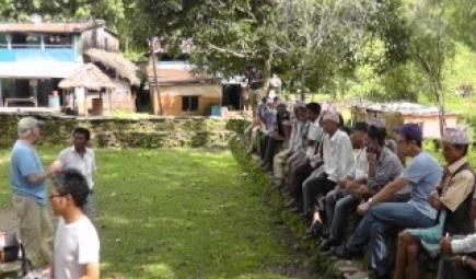 Nepal coffee producers in shade-grown coffee workshop