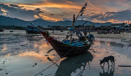 Myanmar fishery.