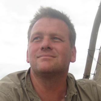 Steve Lubkemann, coordinador internacional, Proyecto de naufragios de barcos de esclavos, Isla de Mozambique, Mozambique. Fotografía cortesía de Stephen Lubkemann.