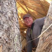 Bill McShea en Birmania.   Fotografía cortesía de Bill McShea.