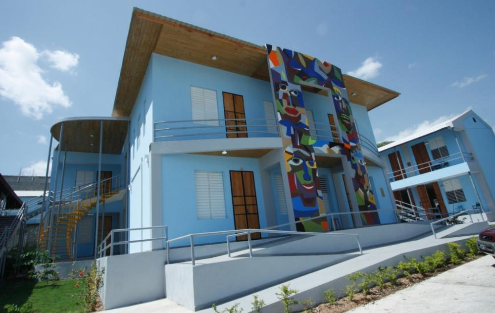 The newly opened Centre de Conservation de biens culturels in Port-au-Prince, 2015. Photo credit Stephanie Hornbeck, Caryatid Conservation