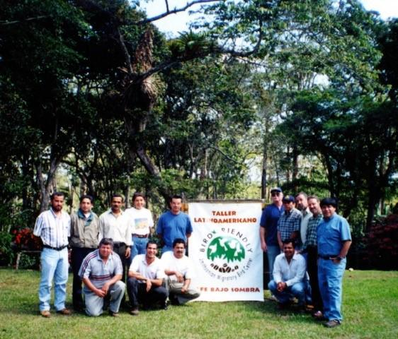 Atelier d'évaluation du couvert forestier en Colombie. Crédit photo : Bob Rice.